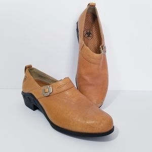 Ariat Clog Slip On Shoes Size 9.5 Women's Leather